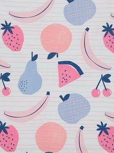 Browse our range of amazing value girls clothing and accessories at George at Asda. Kids Pajamas, Pyjamas, Pink Fruit, Fruit Pattern, Fruit Print, Design Girl, Tutti Frutti, Baby Bodysuit, Screen Printing