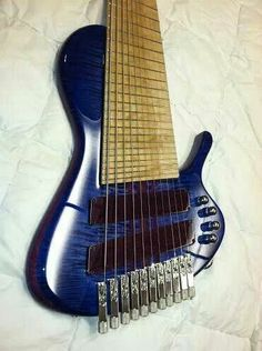 Prat Basses. New 11-string job. Gotta have one, but many a different colour! - Rich S, BDs