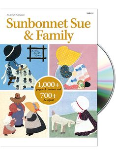 Join Sunbonnet Sue and her family in this adorable out-of-print collection!