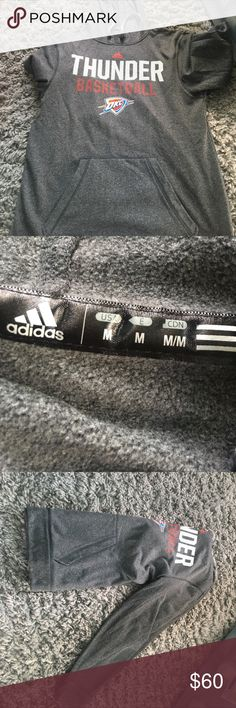 Hooded sweatshirt No tags but it has never been worn, straight from the  adidas store 92079ba748