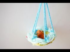 Paper Plate Weaving | Make a Doll Hammock | TinkerLab