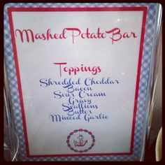 New wedding food stations mashed potatoes 40 Ideas Fall Birthday Parties, Grad Parties, Christmas Parties, Mashed Potato Bar, Mashed Potatoes, Wedding Guest Book, Our Wedding, Dream Wedding, Wedding Dress