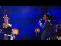 Pink ft. Nate Ruess - Just Give Me A Reason (Live)...with lyrics    Love love love this live!