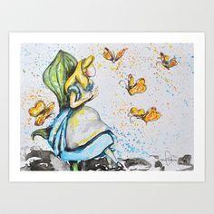 Alice Art Print by Tricia Kibler - $24.96