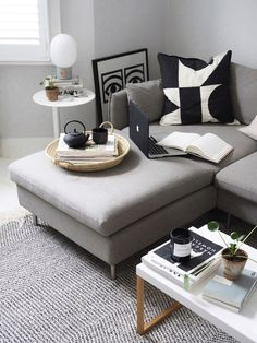 The introvert's home: 7 signs you're an introverted interior decorator - monochrome interior White Floorboards, White Wall Bedroom, Monochrome Interior, Slow Design, Interior Decorating, Interior Design, Simple Interior, Minimalist Living, Introvert