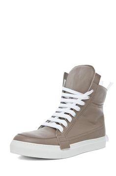 39d3f795e9f3 Men s Shoes   Kris Van Assche Hi Top Multi Laced Sneaker in Light Brown