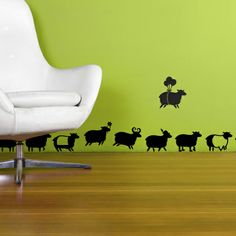 Roundup of Stunning Wall #Stickers for Your Inspiration, Wall #Decal | http://www.webdesign.org/miscellaneous/web-design-inspiration/roundup-of-stunning-wall-stickers-for-your-inspiration.21893.html