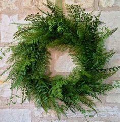Fabulous Fern Wreath - Creative Decorations by Ridgewood Designs