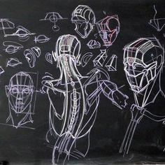 Inventive drawing. #gnomen #willweston #willwestonstudio #nucleusgallery #conceptdesignacademy #CDA #SILA #art #artclass #artcenter #figure #lifedrawing #figuredrawing #inspiration