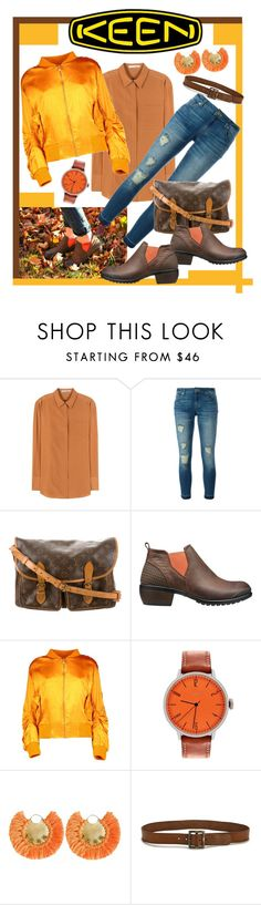 """So Fresh and So Keen: Contest Entry"" by giovanina-001 ❤ liked on Polyvore featuring Acne Studios, MICHAEL Michael Kors, Louis Vuitton, Keen Footwear, Boohoo, Tsovet, Ricardo Rodriguez, Paige Denim and keen"