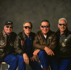 James Garner, Clint Eastwood, Tommy Lee Jones, and Donald Sutherland
