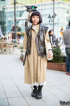 Tomoka, 22 years old | 5 January 2015 |  #Fashion #Harajuku (原宿) #Shibuya (渋谷) #Tokyo (東京) #Japan (日本)