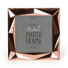 Angle copper photo frame 4x4 - Photo Frames - Home & Kitchen - Gifts & Home