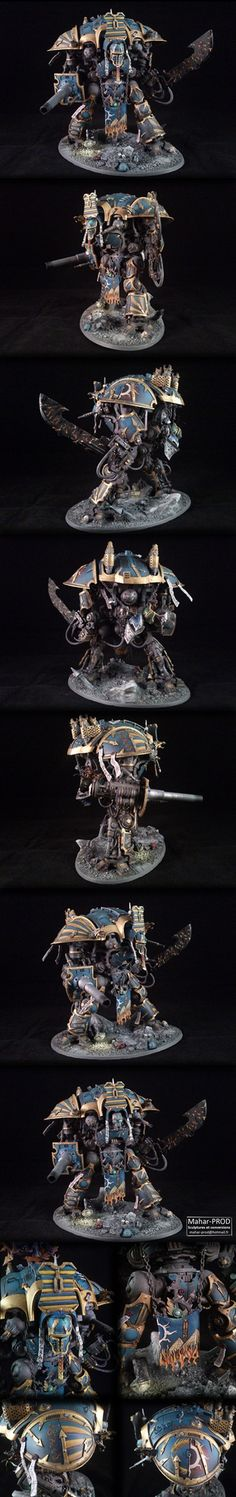 Chevalier Chaotique Thousand Sons by Mahar-PROD