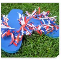 flip flop craft for the girls
