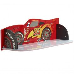 Disney Cars Lightning McQueen Kids Bedroom Book Shelf by HelloHome