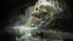 ArtStation - Skull Cave, Quentin Mabille