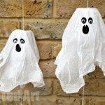 DIY Ghost MINI Pinatas - such fun