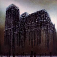 Zdzisław Beksiński | Gothic art & fantastic | Obsessions