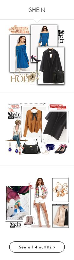 """""""SHEIN"""" by red-rose-girl ❤ liked on Polyvore featuring modern, Alice + Olivia, Sheinside and shein"""