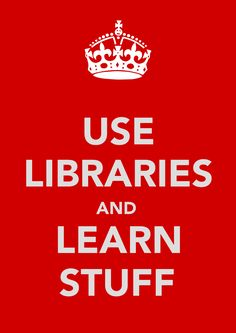 Just use libraries