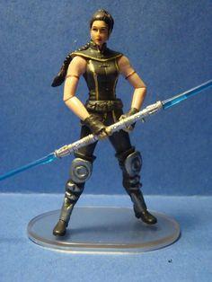 Star Wars Custom Action Figure Satele Shan Jedi Order Grand Master Old Republic #Hasbro