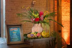 Havana Nights Corporate Holiday Party + Tropical floral + bar decor + signage Holiday Party Themes, Holiday Parties, Holiday Nights, Party Ideas, Theme Ideas, Decor Ideas, Havana Nights Party Theme, Corporate Event Design, Night Bar