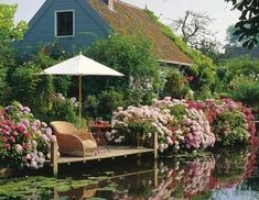 cottage > >  and a gorgeous setting