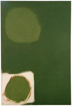 "felixinclusis: "" grafurii: Patrick Heron Dull Green with White : December 1961, 1961 """