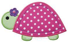 Turtle Machine Embroidery Applique