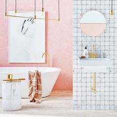 The Coolest Bathrooms On Insta - These pics are all #bathroomgoals. - Photos