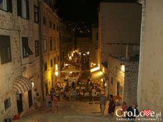 Schody do Kościoła Św. Ignacego w Dubrowniku    http://CroLove.pl/stare-miasto-w-Dubrowniku    #Dubrovnik #Dubrownik #DubrovnikOldTown #Chorwacja #Croatia #Hrvatska