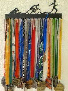 Porta Medallas Triatlón