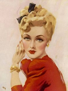 The Pin-up Files, London, United Kingdom. likes · 229 talking about this. The Pin-up Files is the number one online art and photography resource. Pin Ups Vintage, Art Vintage, Vintage Beauty, Vintage Ladies, Vintage Updo, Vintage Glamour, Vintage Pictures, Vintage Images, Art Illustration Vintage