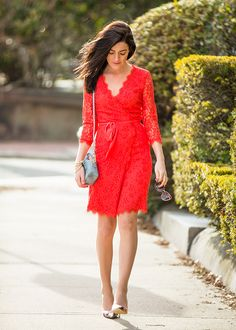 Lady in Coral