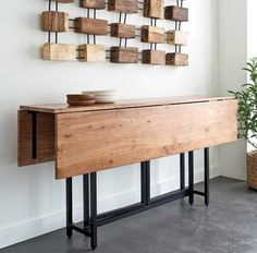 20 Space-Saving Dining Tables for Your Apartment   Pinterest ...