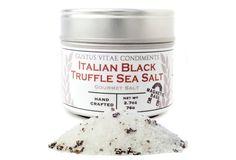 Italian Black Winter Truffle Sea Salt | Gustus Vitae