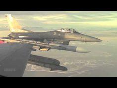 F-16 Aerial Footage
