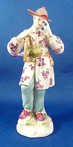 China Man Meissen Porcelain 19th Century