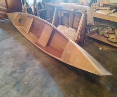 """Hi!I developed the urge to build my own canoe/kayak. It took a while to get the courage for the undertaking, and my research took me down several possible avenues. Eventually, with the tools, time and money I had on hand, I settled on a """"stitch & glue"""" building method using plywood, fibreglass and varnish.This is the story of how I did it. Took me four months of about an hour per day, and a couple of weekend days. The total length of the boat is just under 4 meters.The end resu..."""