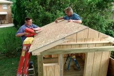 How to Build a Play House for Children • Ron Hazelton Online