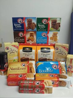 Bake a cake or save yourself the effort and go straight for the biscuits. From classic Marie or Tennis Biscuits to Romany Creams for the chocolate lovers, add some sweetness to your December! Blue Chocolate, Chocolate Lovers, Biltong, South African Recipes, Snack Recipes, Snacks, School Memories, Cream Cream, Grocery Store