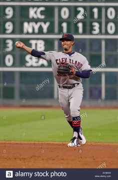 Houston, Tx, Usa. 10th May, 2016. Cleveland Indians Shortstop ...