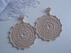 Boutique en ligne bcfce 9400d Las 55 mejores imágenes de pendientes flamenco a crochet ...
