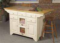PORTABLE KITCHEN ISLANDS with Seating & Stools   White Kitchen ...
