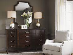 """""""Kensington Place"""" collection, Baldwin Triple Dresser - Lexington Home Brands"""