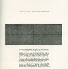 """jonasgrossmann: """"sol lewitt… diagonal lines in two directions, superimposed (plan for wall drawing, paula cooper gallery, new york), 1969 @ visible """""""