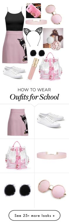 """""""001"""" by anelegoulding on Polyvore featuring MSGM, Lacoste, Humble Chic, Smith & Cult and Fleur du Mal"""