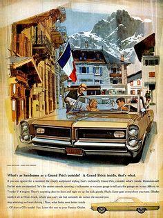 Pontiac Grand Prix ad (1964)