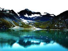 Glacier Bay, Alaska.  The colors are so amazing.